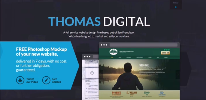 Thomas Digital marketing design