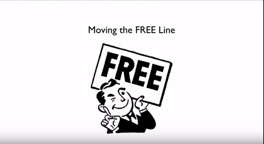moving the free line