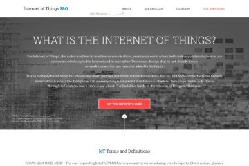 Internet of Things FAQ
